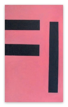 Untitled 2 (Pink) 1992 (Abstract painting)