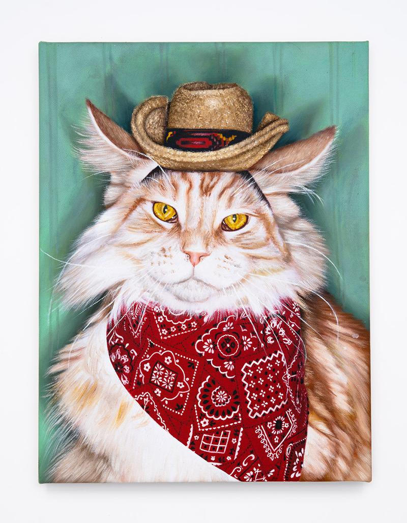 Cowboy Kitty (Cameo Tabby)