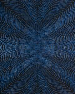 Daniel Hill,  Untitled-9 2018, acrylic, 30 x 24 inches