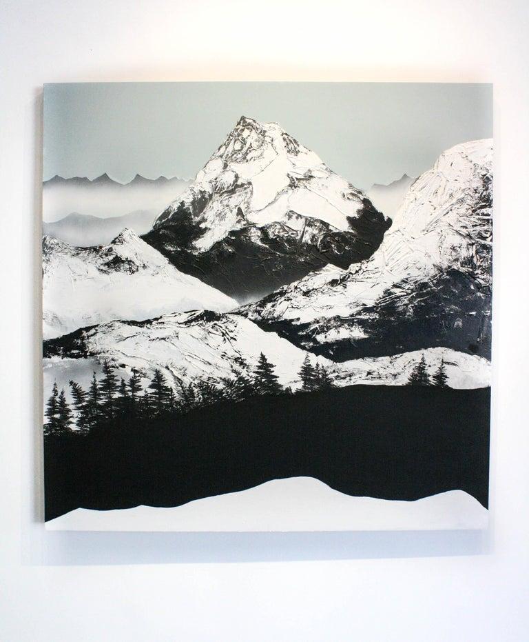 Dante's Peak - Painting by Daniel Holland