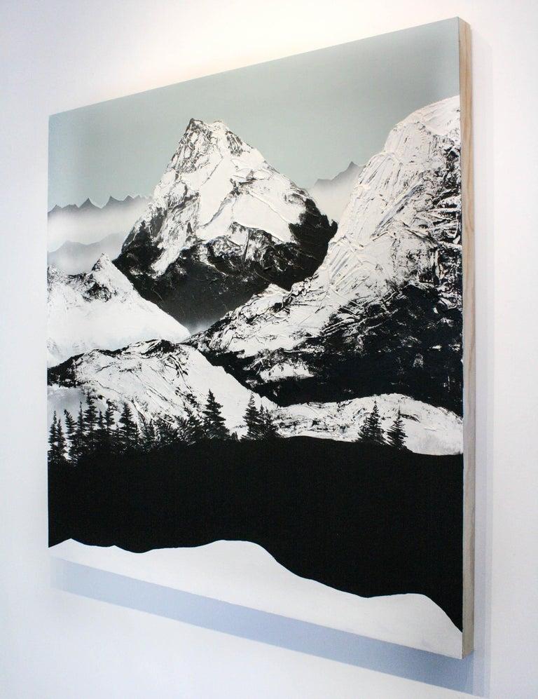Dante's Peak - Contemporary Painting by Daniel Holland