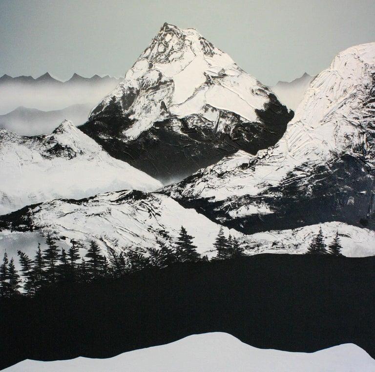 Daniel Holland Figurative Painting - Dante's Peak