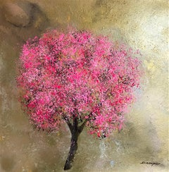 Blossom Kings Road  original floral abstract  painting