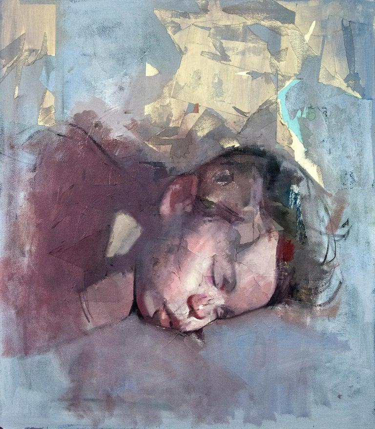 Daniel Hughes Portrait Painting - Baby Atticus
