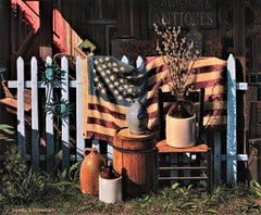 "Photorealist Still Life, ""American Antiques"""