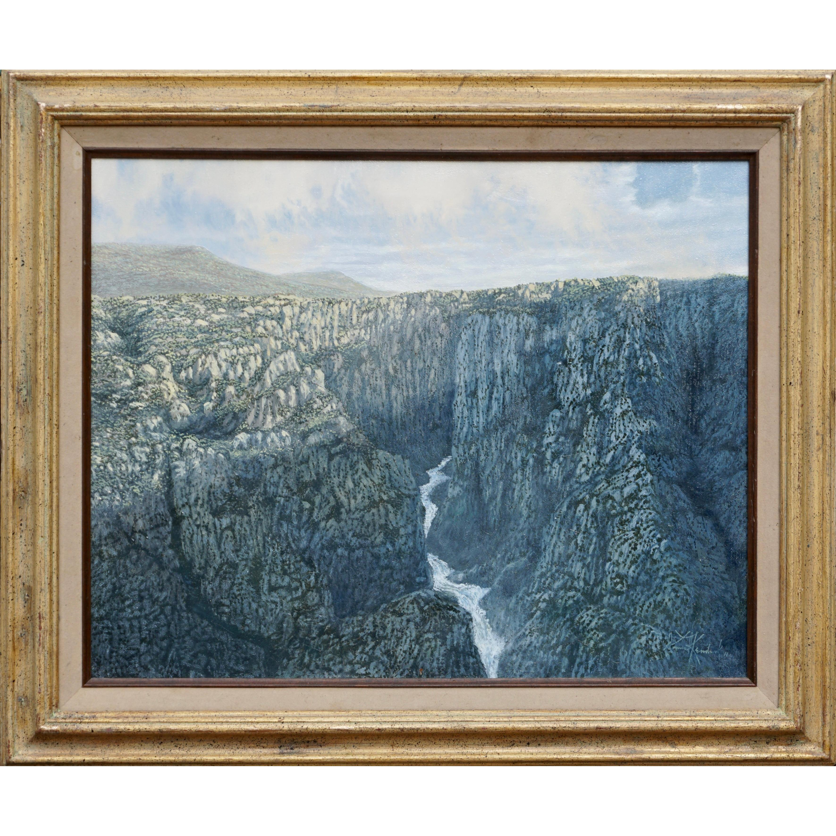 "Daniel Kendrick Oil Painting ""The Great Divide"""