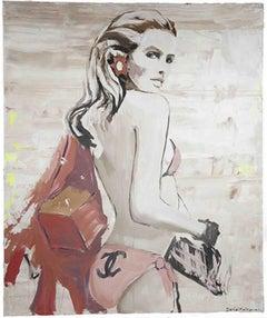 Daniel Maltzman, 'Lady in Pink'