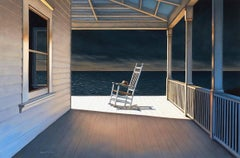 'Eye of the Storm', Contemporary Realist Marine Oil Painting