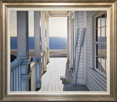 """""""Just the Two of Us,"""" Realist Coastal Oil Painting"""