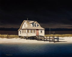 'Ominous Front', Contemporary Realist Marine Oil Painting