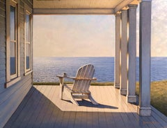 'Sunday Morning', Contemporary Realist Marine Oil Painting