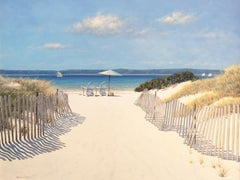 """""""Beach Along Dune Road,"""" Limited Edition Print"""