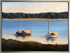 """""""Catboats,"""" Framed Limited Edition Giclee Print, 36"""" x 48"""""""