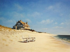 """Mid Day at East Hampton Beach,"" Limited Edition Giclee Print, 36"" x 48"""