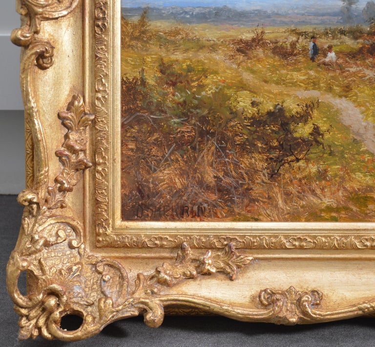 Blean Woods, Kent - 19th Century English Summer Landscape Oil Painting For Sale 7