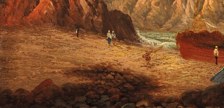 Llŷn Peninsula, Gwynedd, North Wales. Original Painting Daniel Sherrin Pseudonym For Sale 10