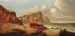 Llŷn Peninsula, Gwynedd, North Wales. Original Painting Daniel Sherrin Pseudonym