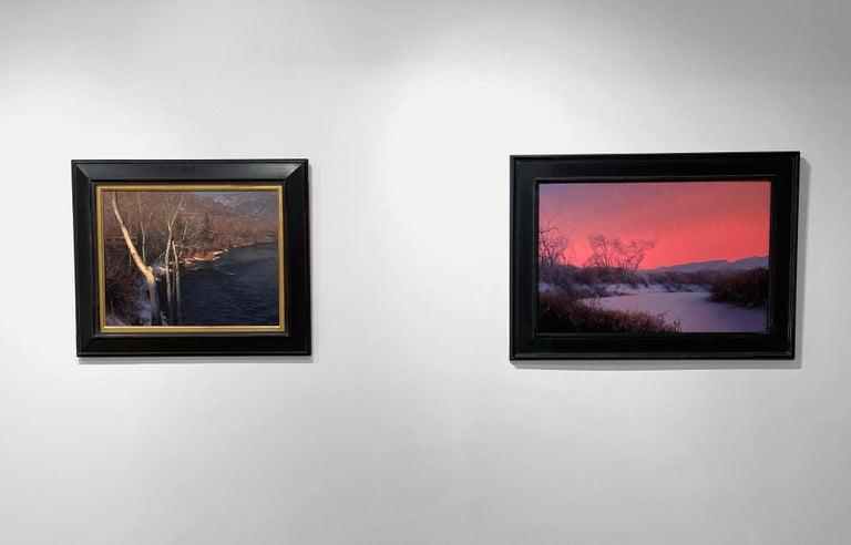 Landscape painting by Daniel Sprick.