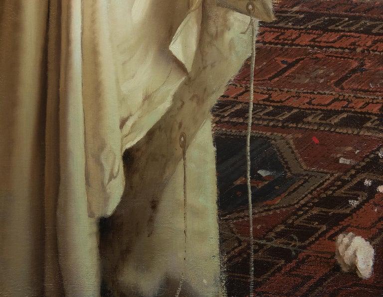 Interior Still Life - Brown Interior Painting by Daniel Sprick