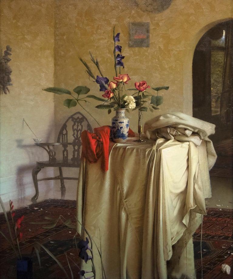 Daniel Sprick Interior Painting - Interior Still Life