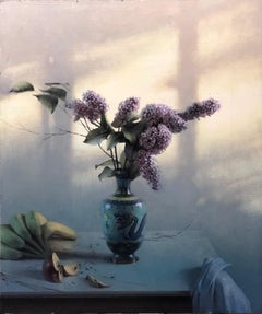 Lilacs, Oil Painting