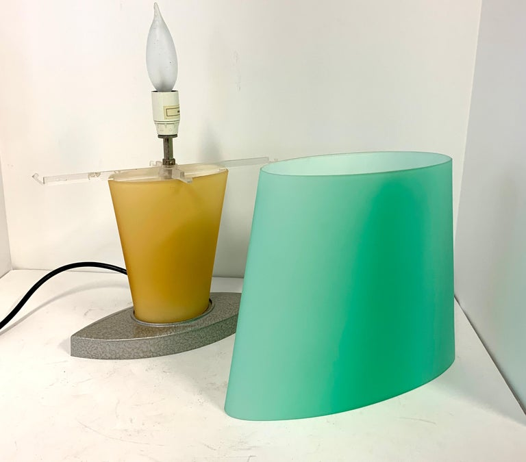 Hand-Crafted Daniela Puppa for Fontana Arte Lamp For Sale