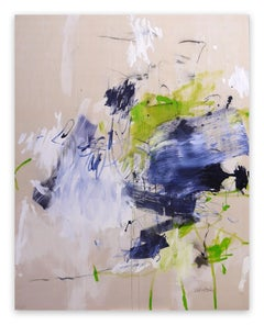 A Breath of Summer I (Abstract Expressionism painting)
