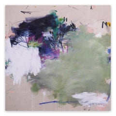 A Breath of Summer IX (Abstract Expressionism painting)