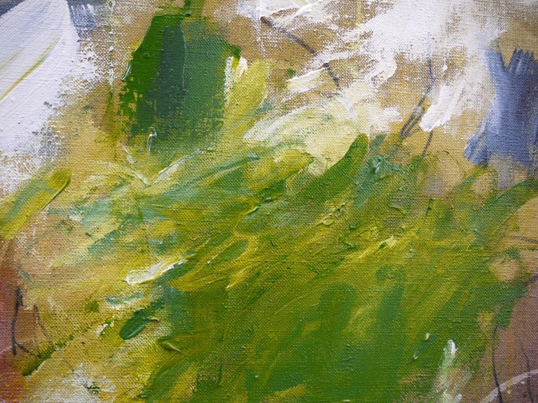 A Breath of Summer V (Abstract Expressionism painting) For Sale 5
