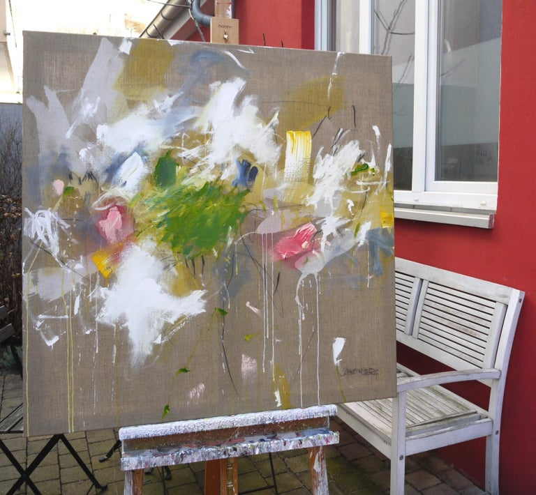 A Breath of Summer V (Abstract Expressionism painting) For Sale 9