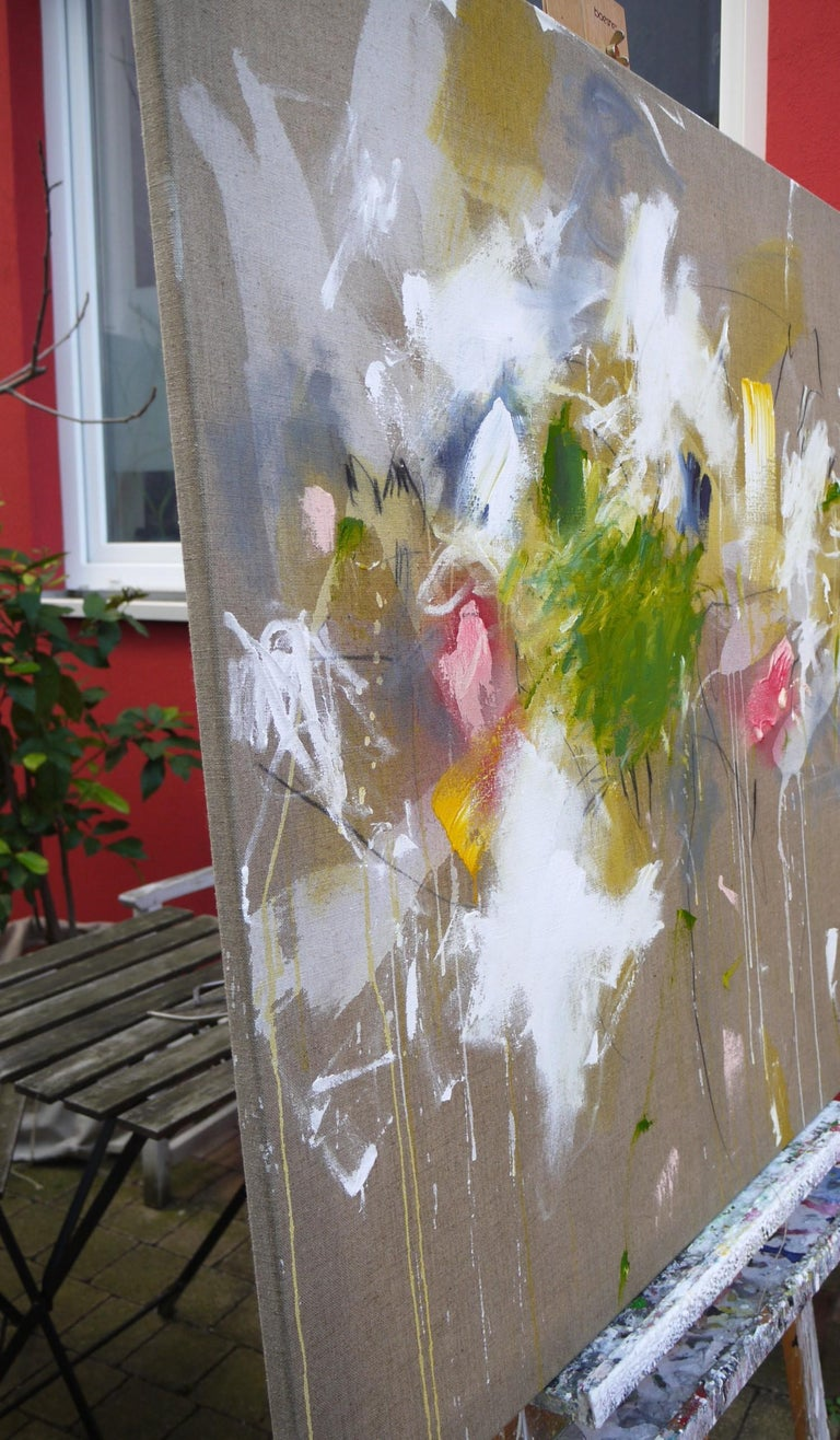 A Breath of Summer V (Abstract Expressionism painting) For Sale 10