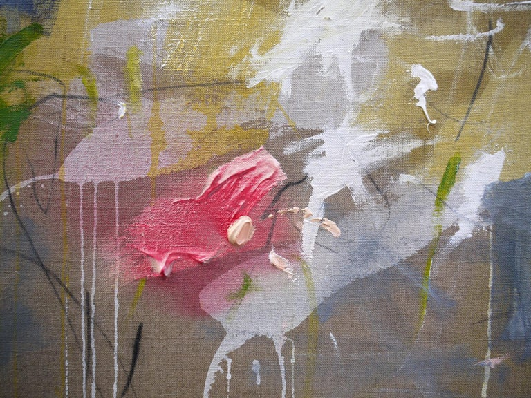 A Breath of Summer V (Abstract Expressionism painting) For Sale 3