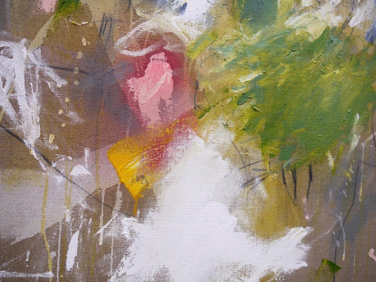 A Breath of Summer V (Abstract Expressionism painting) For Sale 4