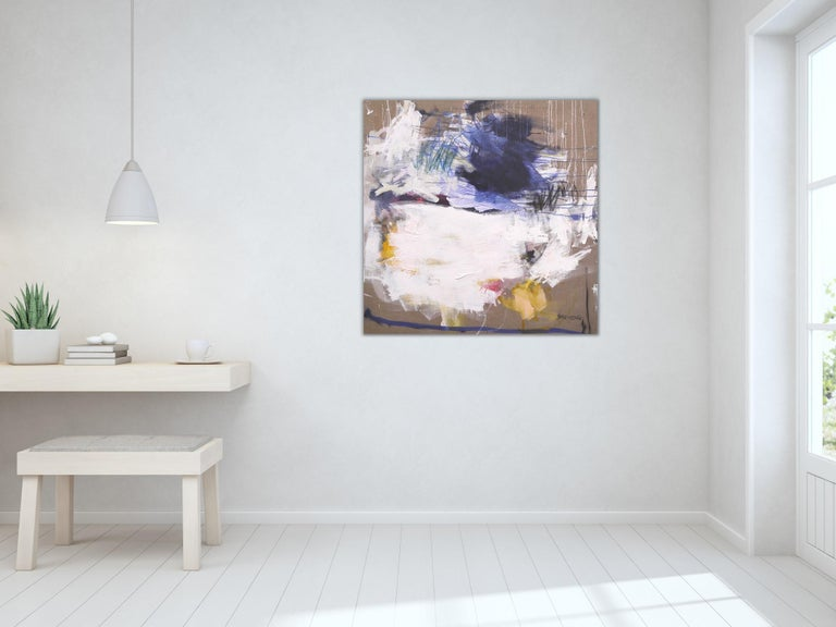 A Breath of Summer VI (Abstract Expressionism painting) For Sale 6
