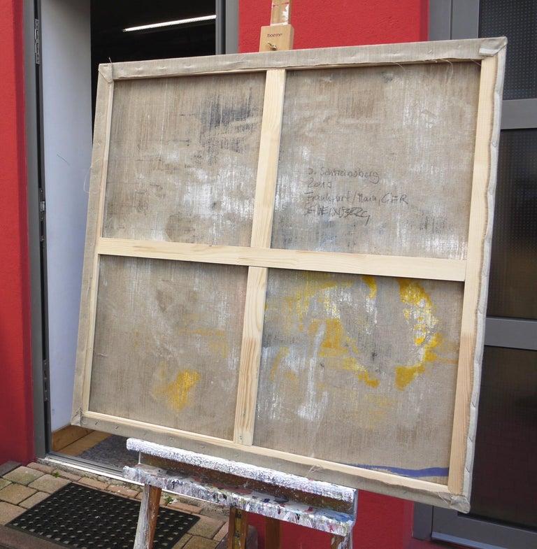 A Breath of Summer VI (Abstract Expressionism painting) - Abstract Expressionist Painting by Daniela Schweinsberg