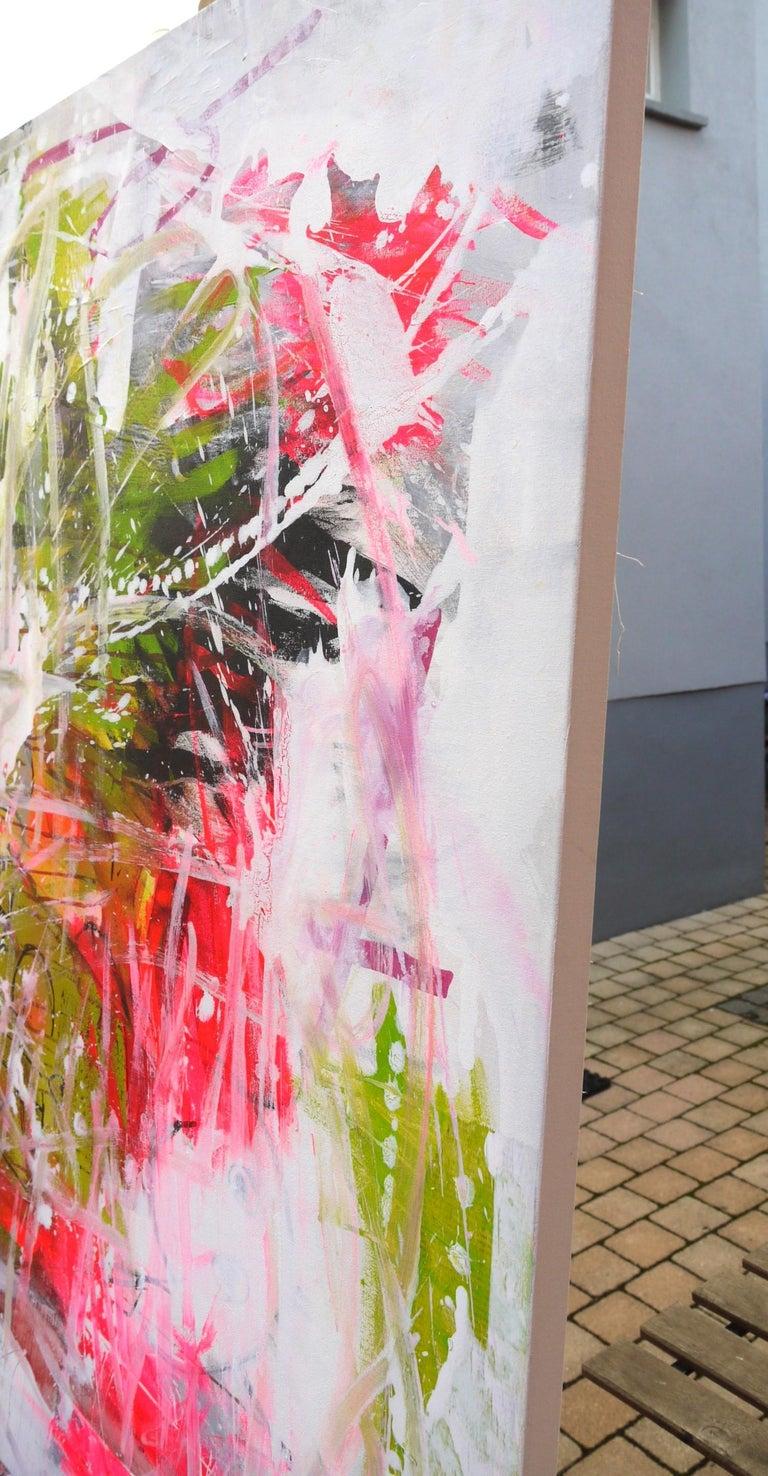 Artist: Daniela Schweinsberg  Title: Always a good girl  Dimensions: 120 x 100 cm  Materials: Acrylics, Oil and Spray paint on Canvas  Original Paintings  _________________________________________________________________________  Always A Good Girl