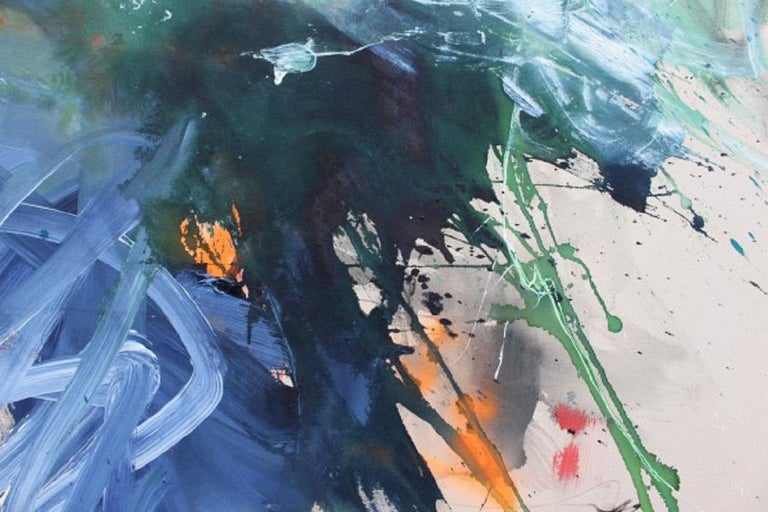 Bad Hair Day (Abstract Expressionism painting) For Sale 3