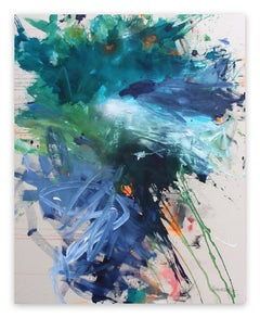 Bad Hair Day (Abstract Expressionism painting)