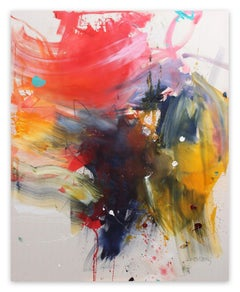 Colour bomb (Abstract painting)