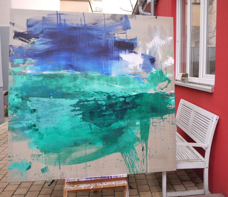 Finistere III, Painting, Acrylic on Canvas For Sale 2