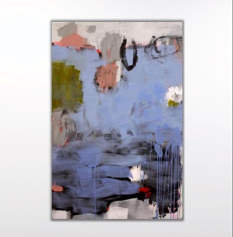 Daniela Schweinsberg Inner Landscape Abstract Painting Pink