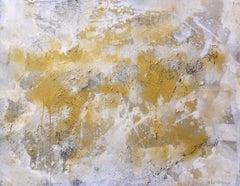Interstellar Gold Rush, Painting, Acrylic on Canvas
