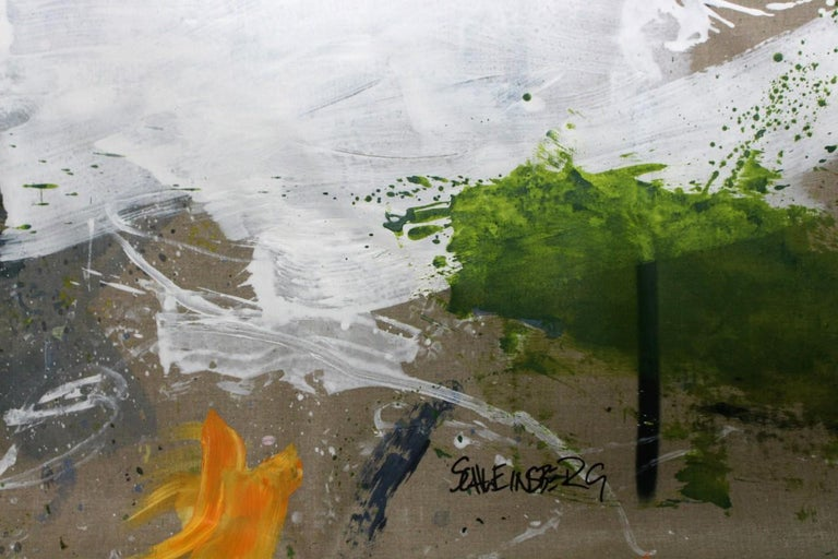 Interstellar Voyage II (Abstract Expressionism painting) For Sale 8