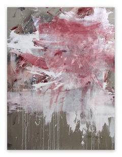 Pink Noise (Abstract Expressionism painting)