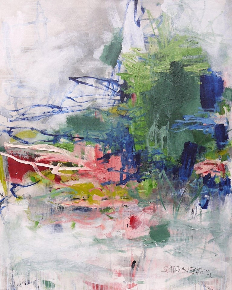 Daniela Schweinsberg Abstract Painting - Wilderness III, Painting, Acrylic on Canvas