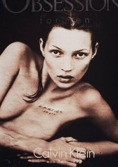 Calvin Klein (Looking For Love), Kate Moss, Contemporary Art, 21st Century