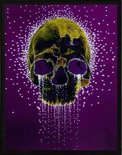 White Tears on Skull, Swiss Conceptual Artist, Contemporary Art, 21st Century