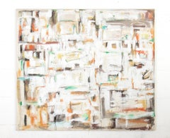 Landscape Abstract Large Painting Contemporary Daniele Righi Ricco Mixed Media