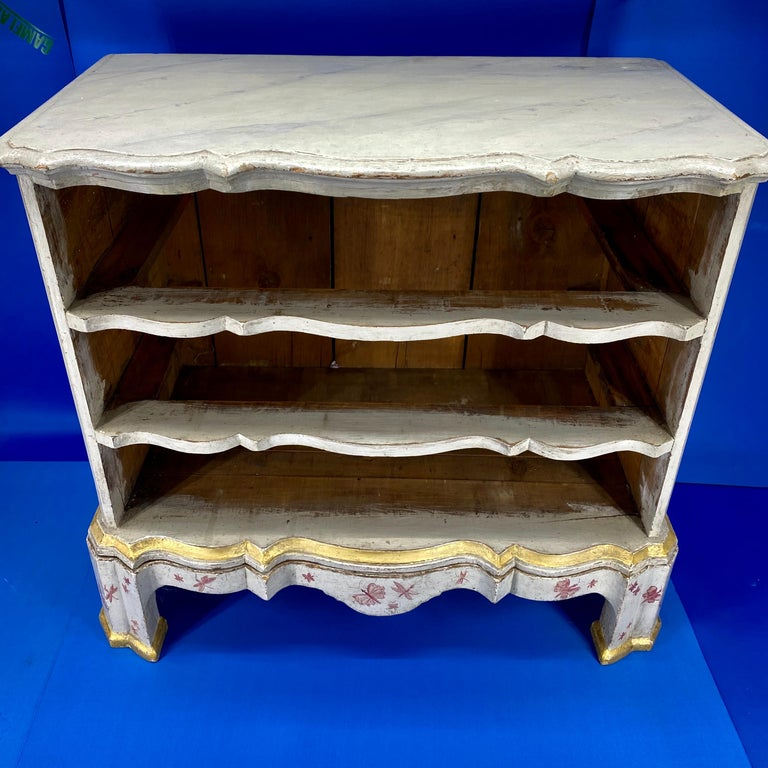 Danish 18th Century Painted Chest of Drawers With Chinoiserie Decor For Sale 12