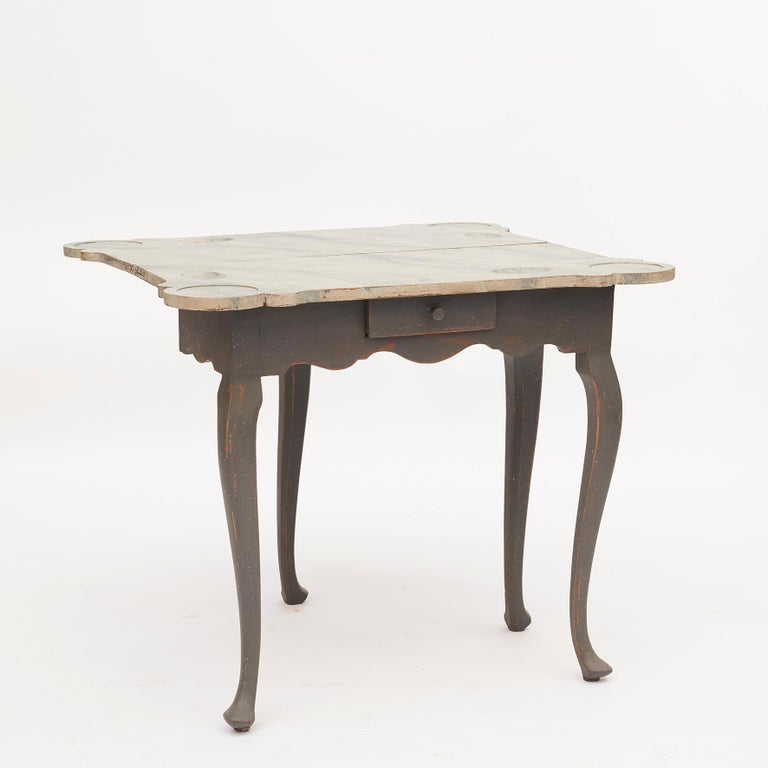 Danish 18th Century Rococo Console and Gaming Table For Sale 2